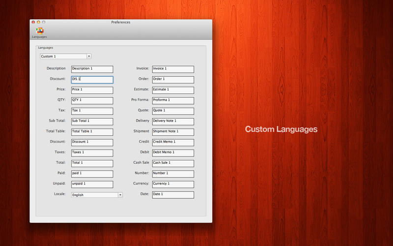 Captures d écran Mac OSX
