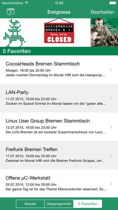 Hackerspace Bremen Screenshot