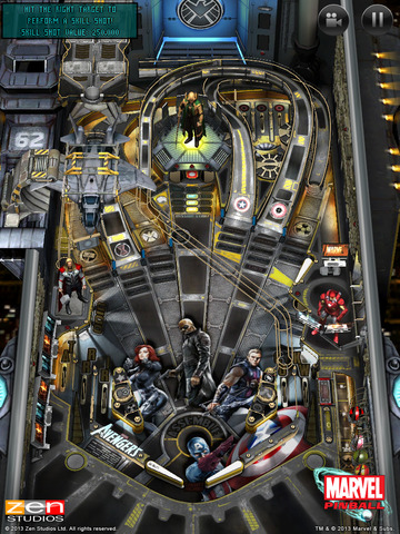 Marvel Pinball iPhone iPad