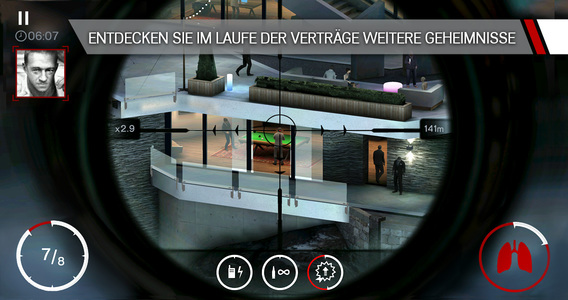 Hitman: Sniper iPhone iPad