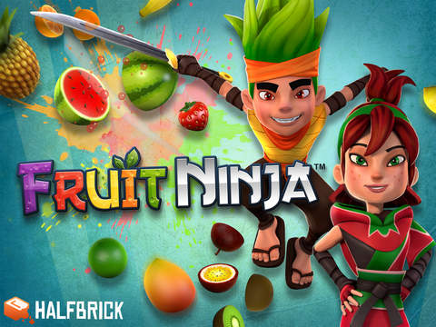 Fruit Ninja Classic iOS Screenshots