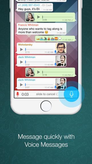 Whatsapp Messenger Para Iphone Ipod Touch Y Ipad En El  Auto Design
