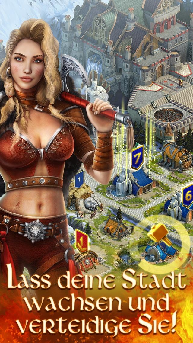 Vikings: War of Clans iOS Screenshots