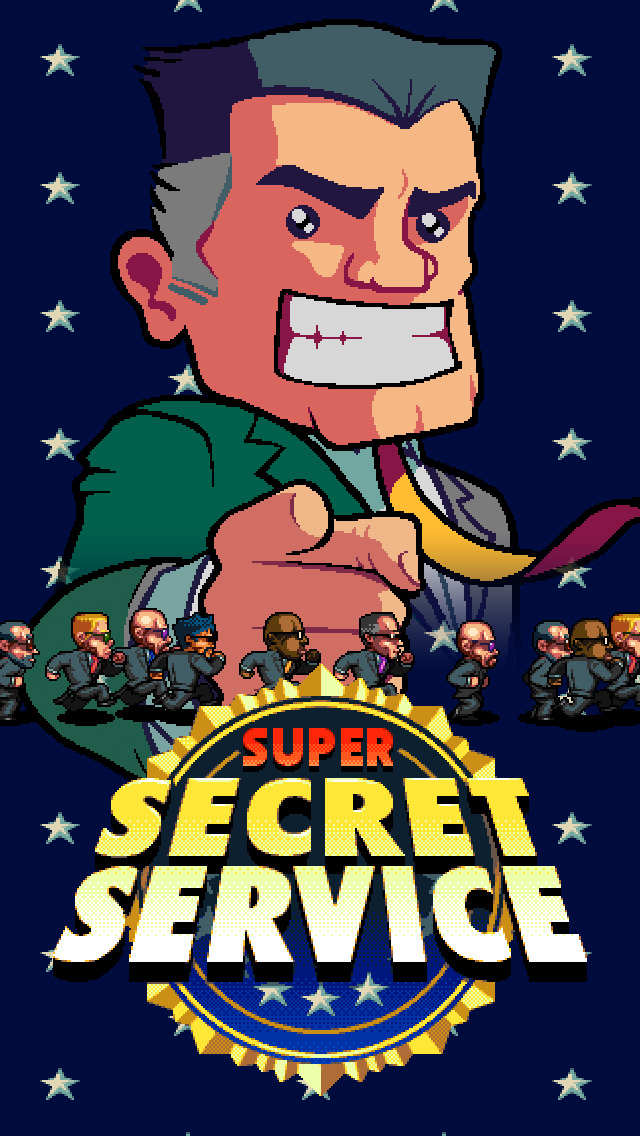 Super Secret Service iOS Screenshots