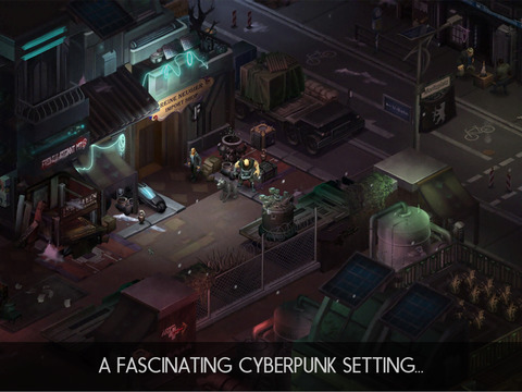 Shadowrun: Dragonfall - Director's Cut iOS Screenshots