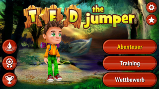 Ted the Jumper iOS Screenshots