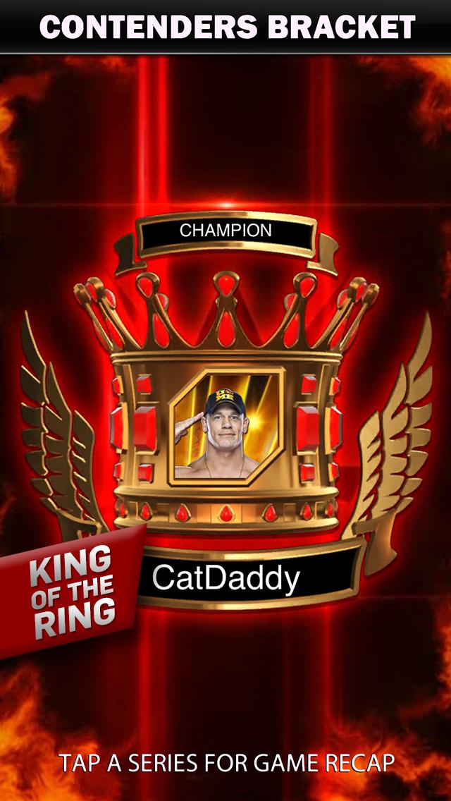 WWE SuperCard: Wrestling Action Kampf-Kartenspiel iOS Screenshots