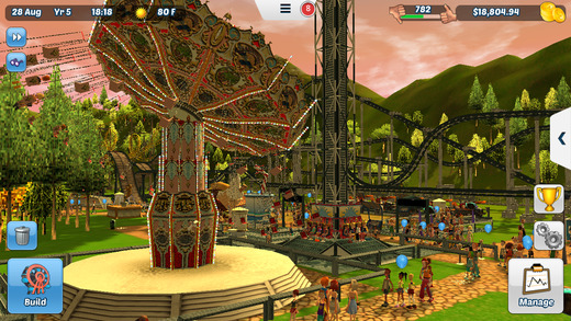 RollerCoaster Tycoon 3 iPhone iPad