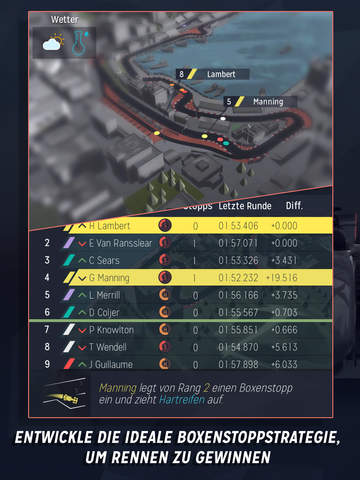 Motorsport Manager iPad
