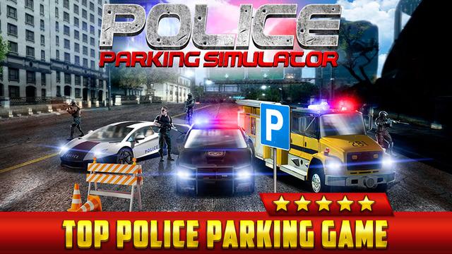 police car parking simulator game gratuit jeux de voiture de course pour iphone ipod touch et. Black Bedroom Furniture Sets. Home Design Ideas