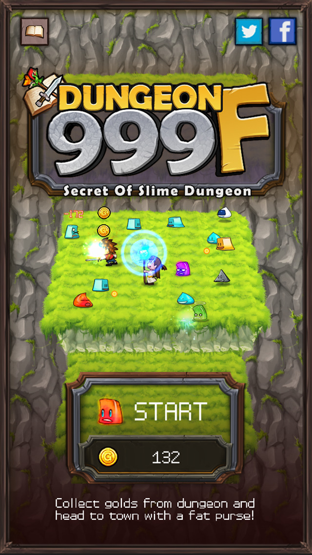 Dungeon999F iOS Screenshots