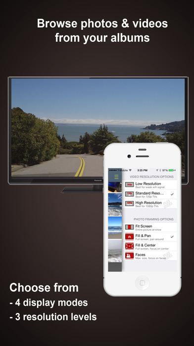 Photo Video Cast for Chromecast: your media at its best. Screenshot
