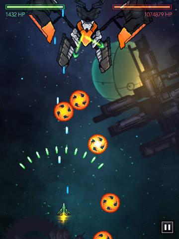 Gemini Strike: Space Shooter RPG iOS Screenshots