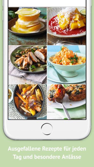 Screenshot for Clean Eating - Gesunde Rezepte mit unverfälschten Lebenmitteln und Superfoods in Germany App Store