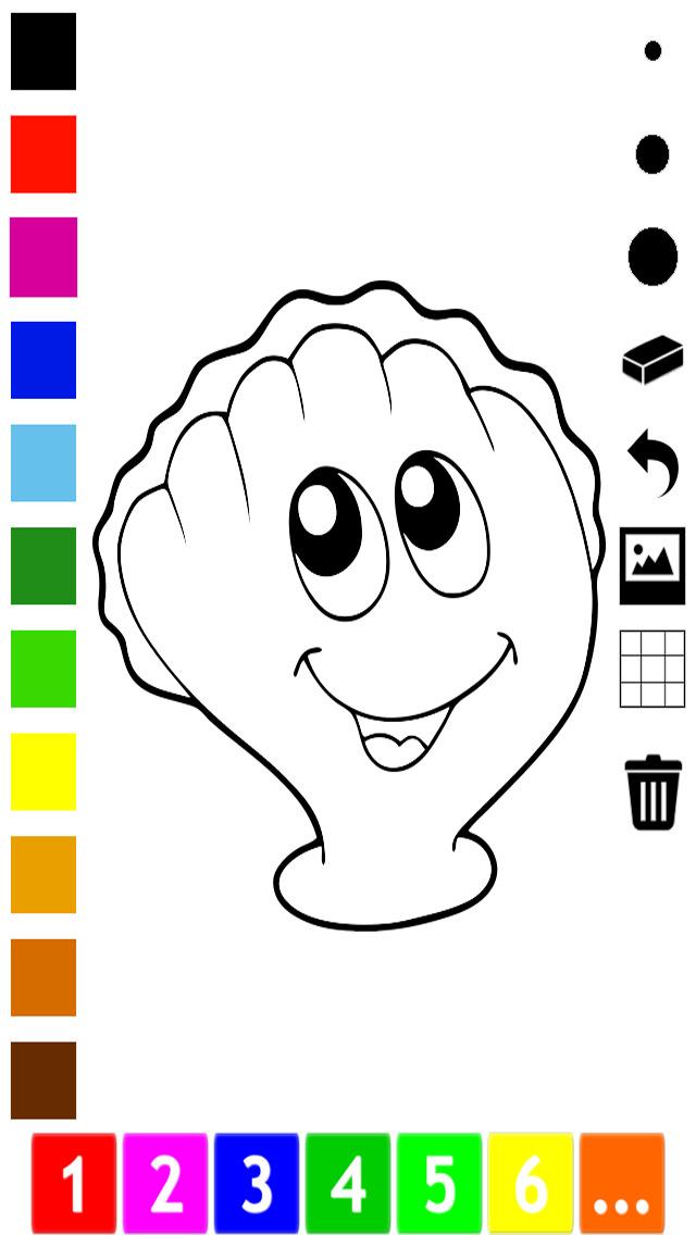 Activo! Libro Para Colorear de Los Peces Para Los Niños a Aprender a ...