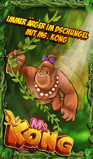 Ms. Kong iOS Screenshots