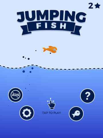 Jumping Fish iOS Screenshots