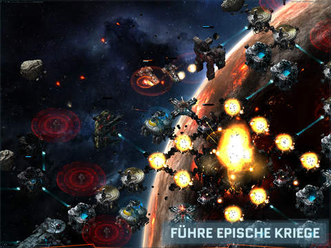 VEGA Conflict iOS Screenshots