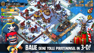 Plunder Pirates iOS Screenshots