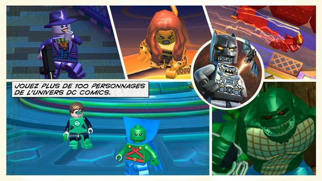 Lego batman beyond gotham dans l app store - Jeux ninjago final battle ...