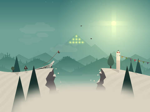Alto's Adventure iOS Screenshots