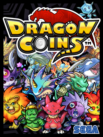 Dragon Coins, ein Coin Dozer-RPG iOS Screenshots