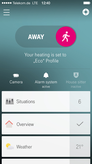 Telekom Smart-Home Screenshots