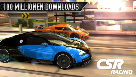 CSR Racing iPhone iPad Update