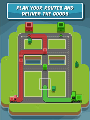 RGB Express - Mini Truck Puzzle Screenshot