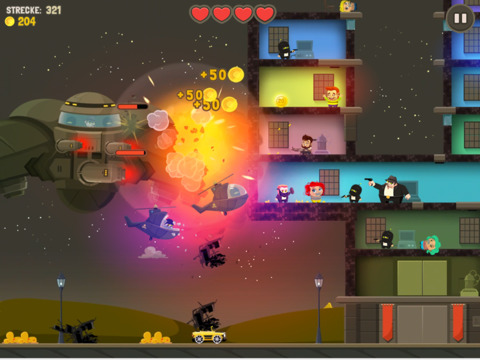 Aliens Drive Me Crazy iOS Screenshots