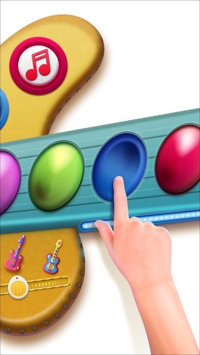 download Jouets de musique pour bébés : Guitare avec chansons pour enfants apps 3