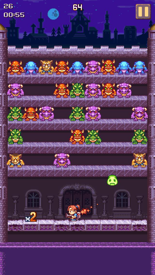 Castle Scout - Fast Color Monster Match Action Puzzle! iOS Screenshots