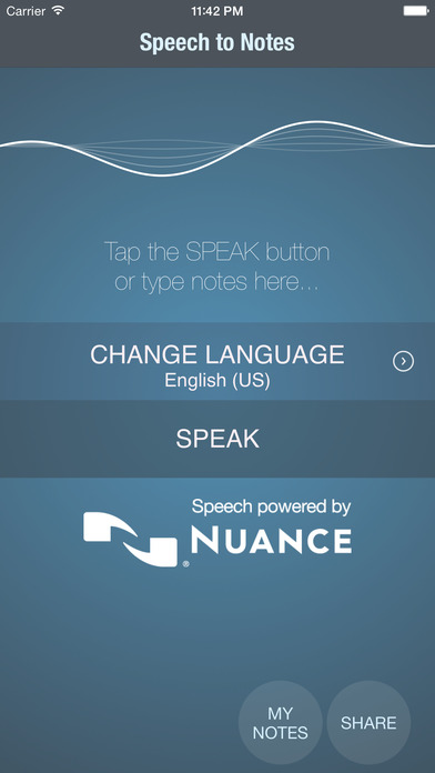 Screenshot for Speech to notes in Romania App Store