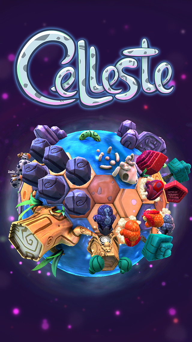 Celleste: Planeten und Käfer iOS Screenshots