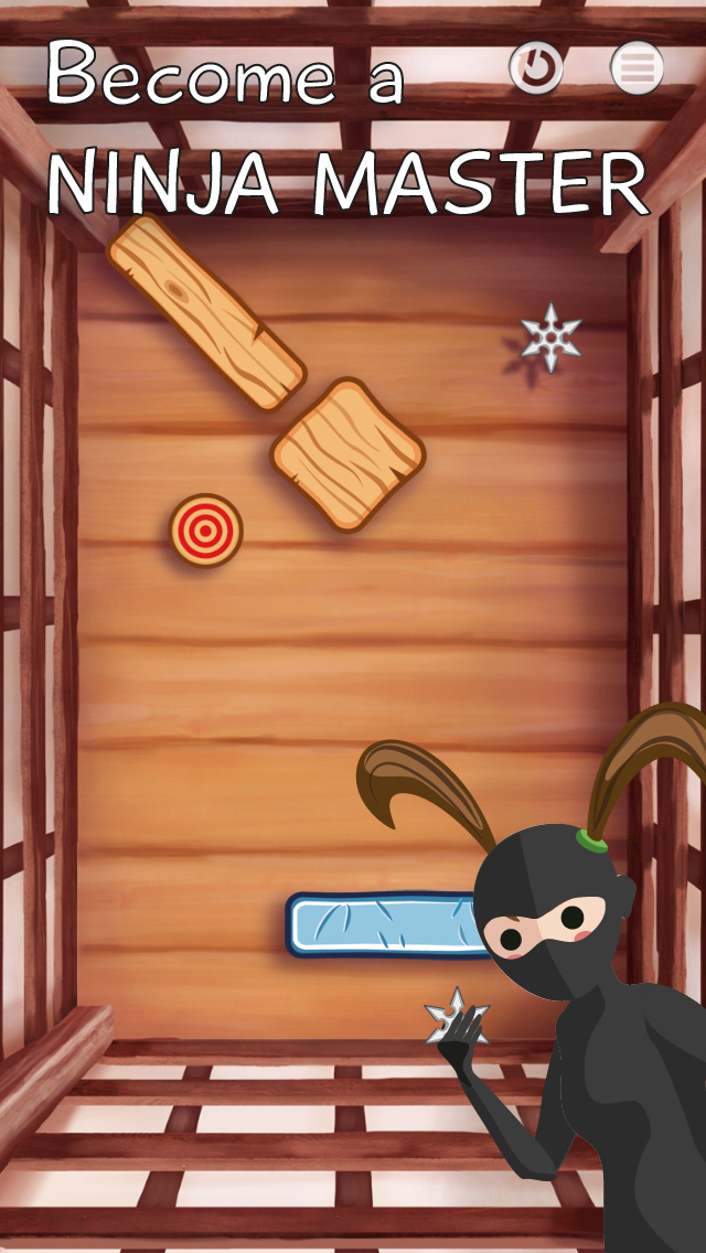 Ninja Star! iOS Screenshots