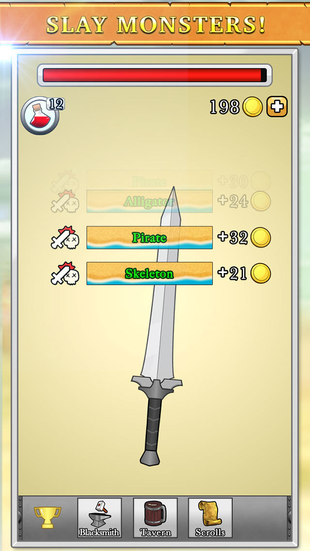 Sword King iOS Screenshots