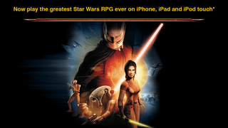 Star Wars®: Knights of the Old Republic™ iOS Screenshots