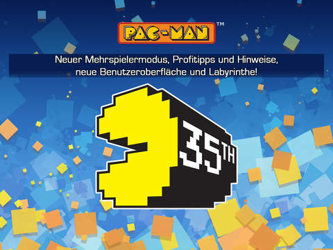 PAC-MAN iOS Screenshots