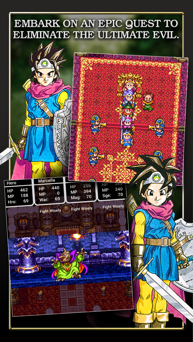 DRAGON QUEST III iOS Screenshots