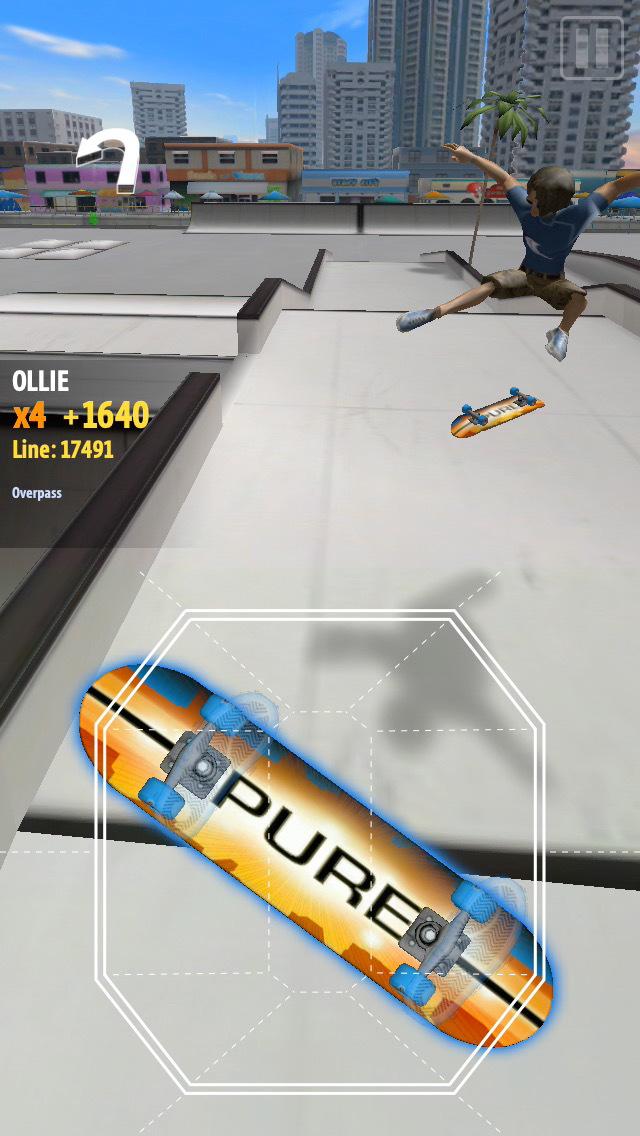 PureSkate 2 iOS Screenshots
