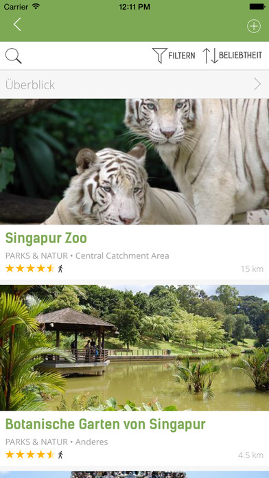 Singapur Reiseführer (Offline Stadtplan) - mTrip Screenshots