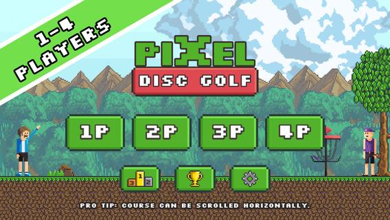 Screenshot 1 Pixel Disc Golf