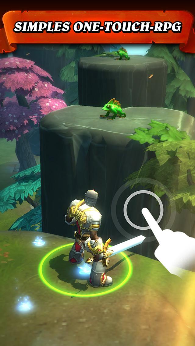 Tap Warriors: Jump Attack(Sprung Angriff) iOS Screenshots