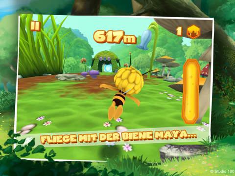 Die Biene Maja: Flügelflatterflitzeflug iOS Screenshots