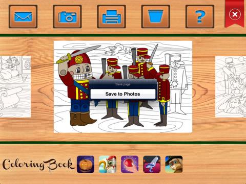 De Notenkraker en de Muizenkoning. Kleurboek voor kinderen Screenshot