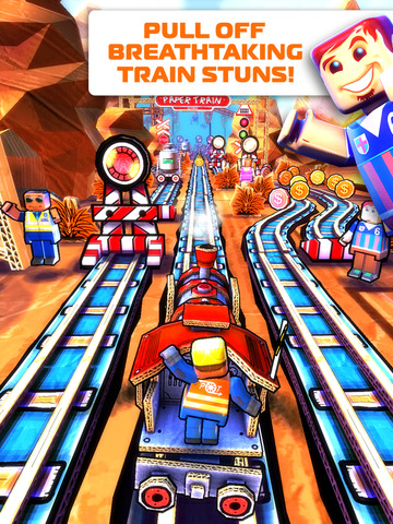 Paper Train: Rush iPad