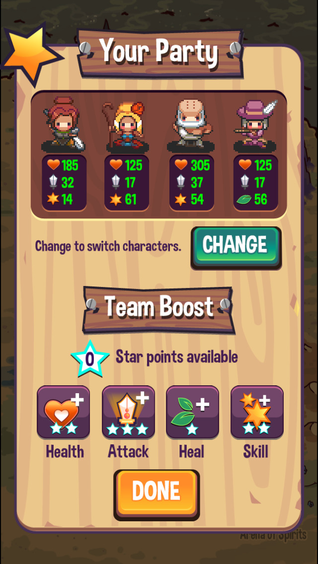 Screenshot 3 Swap Heroes 2