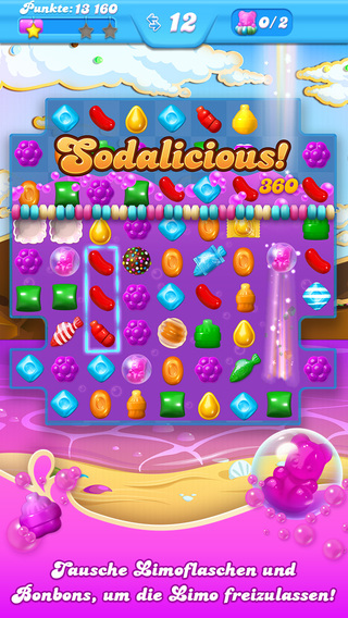 Candy Crush Soda Saga iPhone iPad