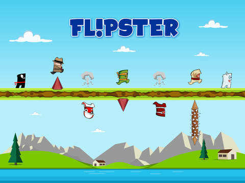 Flipster - Endless Arcade Jumper iOS Screenshots