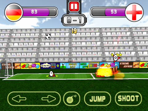 Super Triclops Soccer iPhone iPad